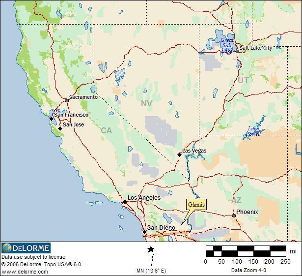 California Rv Camping Glamis Rv Camping