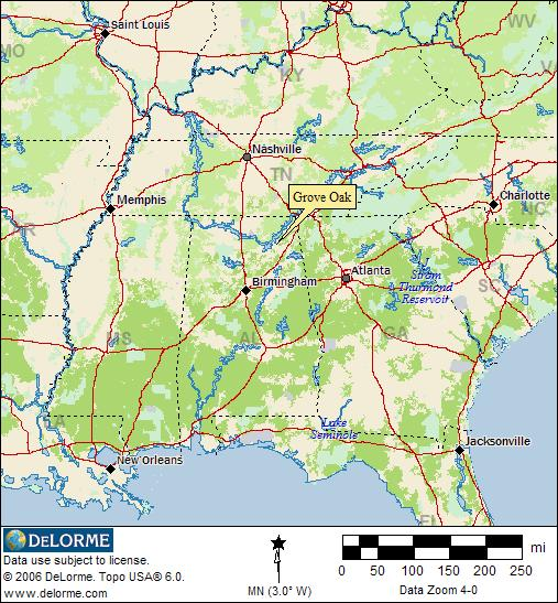 Alabama RV Camping - Grove Oak-3
