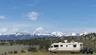 Pike National Forest Campsite