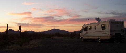 BLM Campgrounds - Arizona