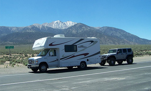 Towing A Vehicle With Your RV | RV Camping