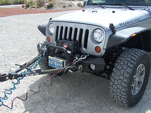 ReadyToTow towing a vehicle with your rv rv camping jeep wrangler tow vehicle wiring harness at gsmportal.co