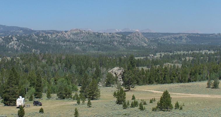 Wyoming RV Camping - Shoshone RV Camping Location Photo